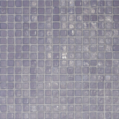 This pale, shimmery lavender would be a pretty backsplash for a cream or white countertop.