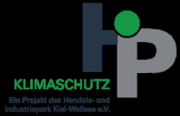 Das Klimaschutz-Logo des Vereins HIP Kiel-Wellsee e.V.