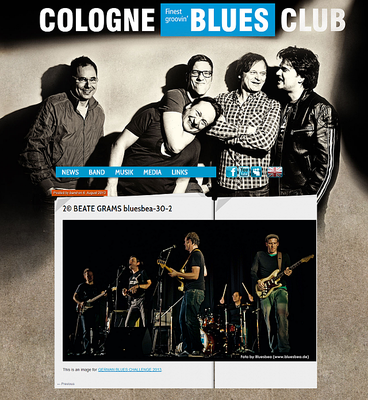 Posted by band on 6. August 2013 - This is an image for GERMAN BLUES CHALLENGE 2013