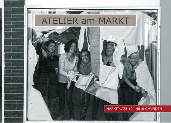 ATELIER am MARKT · Einladungen / Plakate