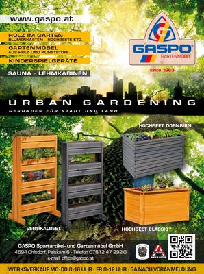 """Inserat """"Urban Gardening"""""""