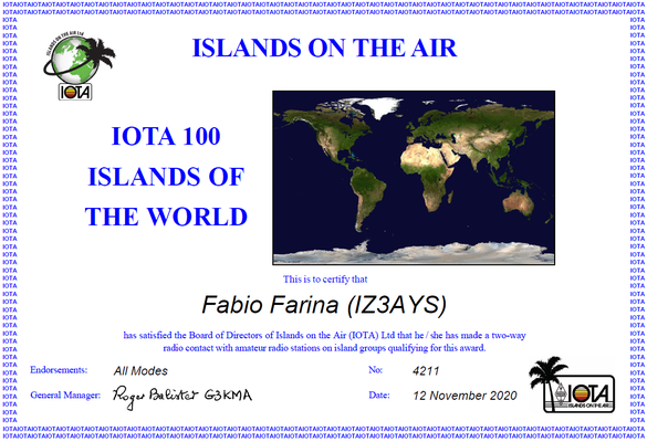 IOTA - Islands On The Air