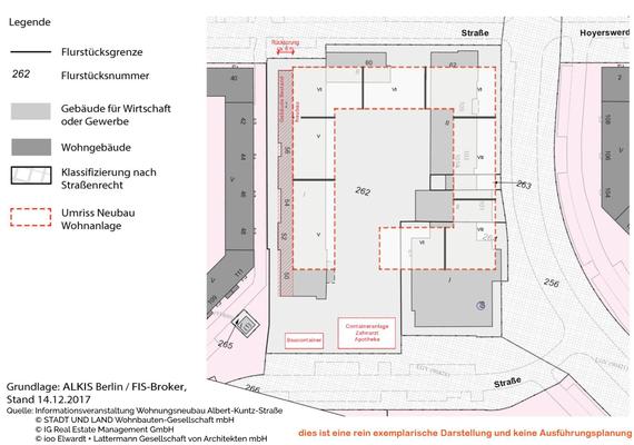 Lageplan alte & neue Gebäude. Quelle/Copyright: siehe Bild