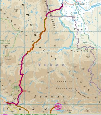 Yukon, Norden (Dempster Hwy)