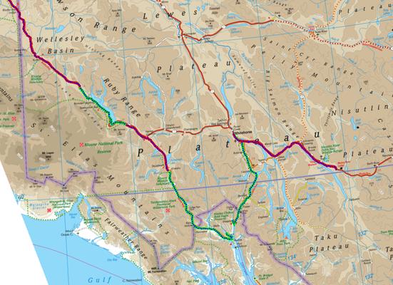 Tracks in Yukon und Alaska (Alaska Teil 2)