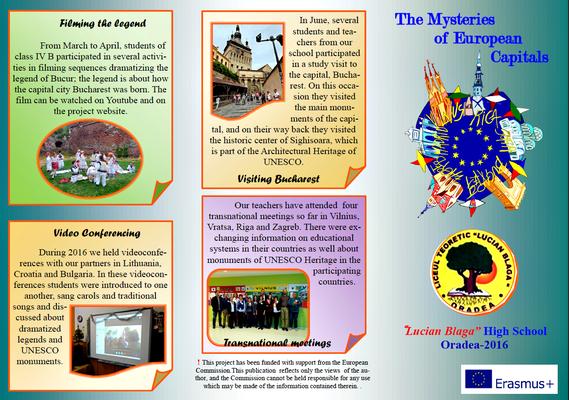 Misterele capitalelor europene - Project MEC