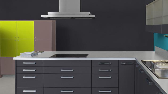 RAL 9005 - Noir et meubles cuisine noirs