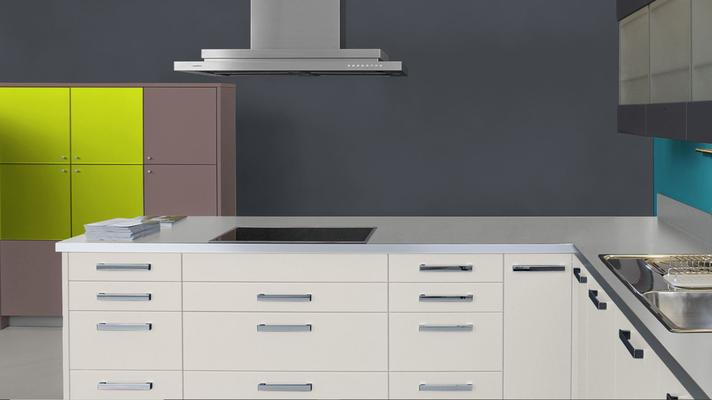 RAL 7016 - Anthracite et meubles cuisine blancs