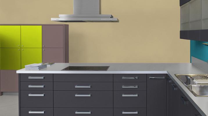 RAL 1001 - Beige et meubles de cuisine noirs