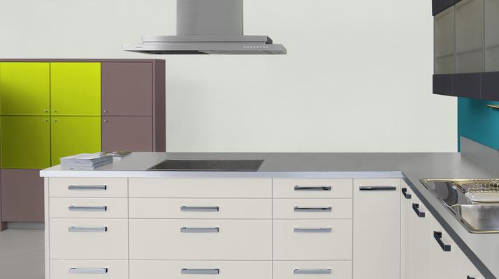RAL 9010 -  Blanc pur et meubles cuisine blancs