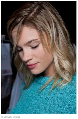 Trendfrisuren 2015: Der Clavi-Cut bei Agnès b., Quelle: brigitte.de