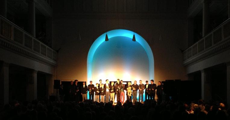 FOH beim Jubiläumskonzert der Hannover Harmonists im Beethovensaal des Kuppelsaals Hannover