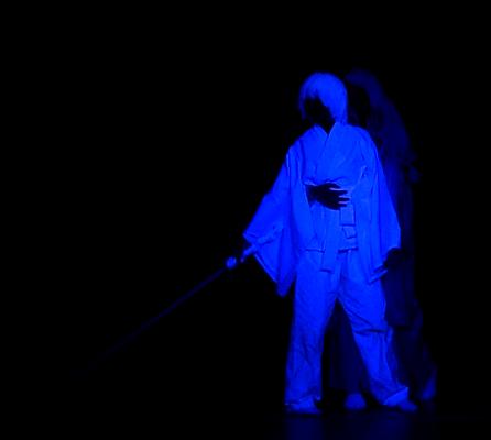 MACK-Weekend 2013 - Schwarzlichtshow