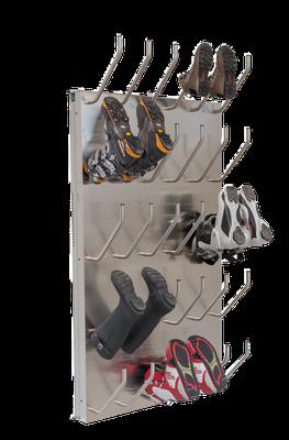 Schuhtrockner für 15 Paar mit Absaugung für Gummistiefel