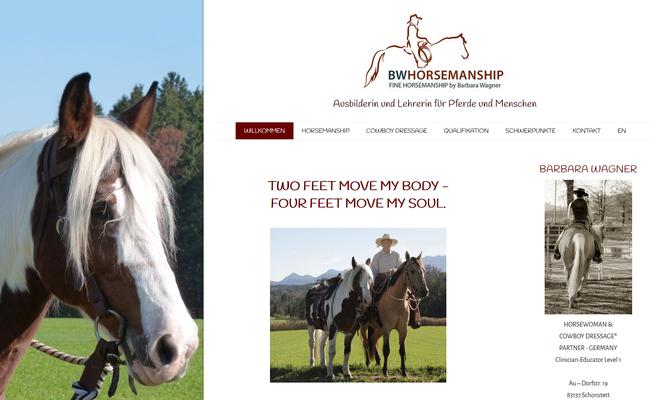 www.bw-horsemanship.de