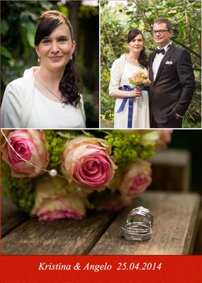 """Liebes Obsession Team, Seit dem 25.04.2014 gehen wir unseren Weg gemeinsam. Mit den schönen Ringen und dem Schmuck aus der Kollektion """"Himalaja"""" den ich tragen durfte habt Ihr uns an unserem Hochzeitstag eine grosse Freude gemacht. Herzlichen Dank!"""