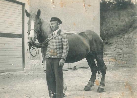 Johann Blattert in Dillendorf