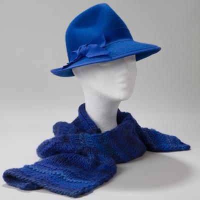 Stettin, klassischer Hut aus Stichelhaar-Filz
