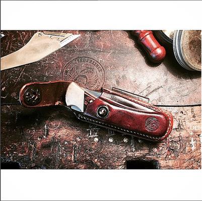 EXTRAWURST | KNIFE COVER | BUCK | maroon