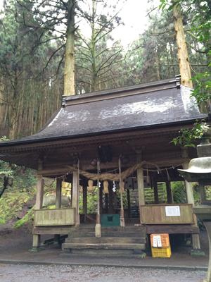 熊野座神社のお社