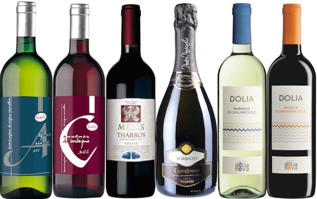 【送料無料】サルデーニャ満喫!スパークリングワイン入り6本セット