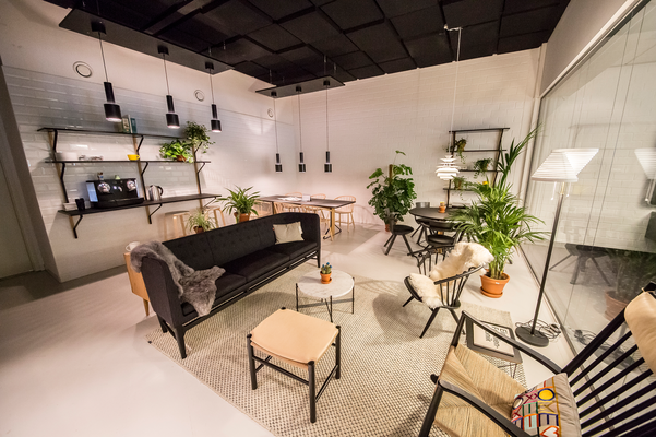 Espace Lounge chez Bureau Moderne