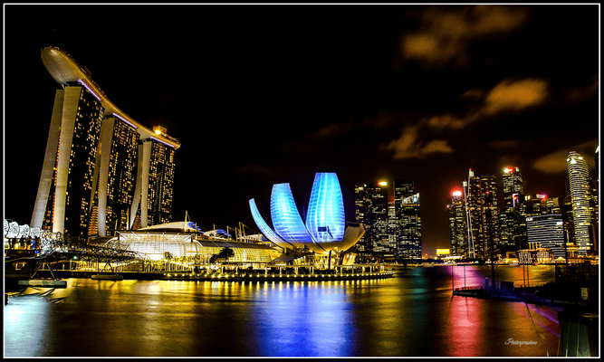 Marina Bay Sands and Museum of Science, Singapore