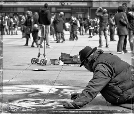 The painter, Berlin