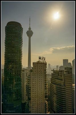 View from 35th floor, Kuala Lumpur