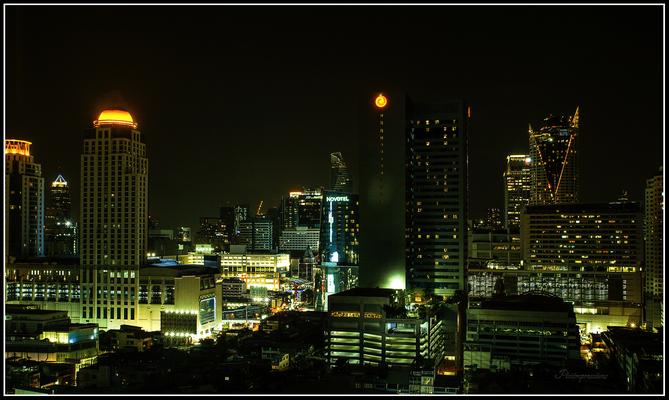 Skyscape of Bangkok