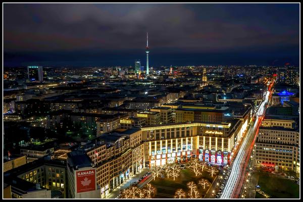 Berlin vom Panoramapunkt
