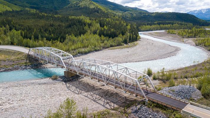 Auf dem Alaska HWY British Columbia Canada