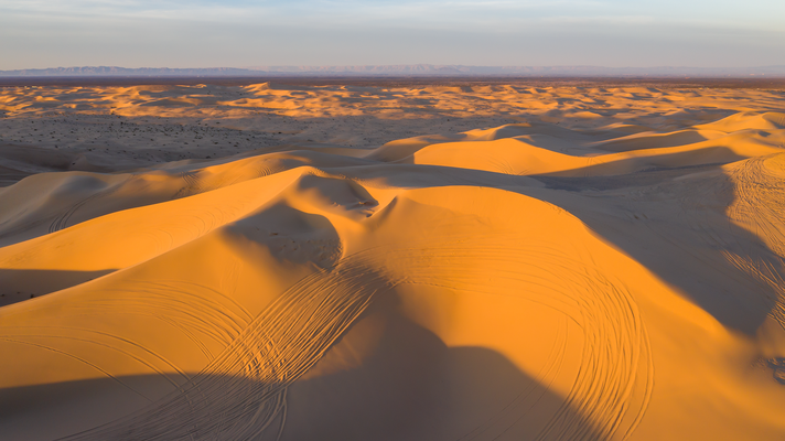 Die Algodones Dunes California USA