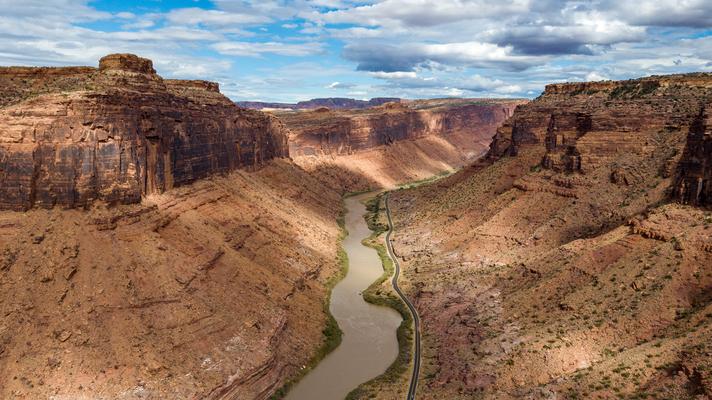 Der Colorado bei Moab Utah USA