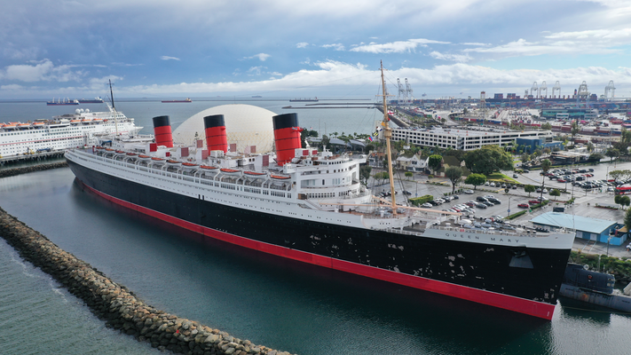 DIe Queen Mary in Long Beach California USA