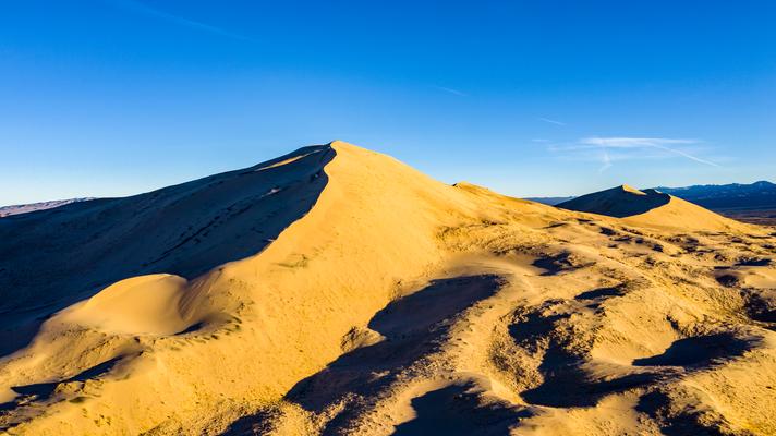 Die Kelso Düne in der Mojave Wüste California USA