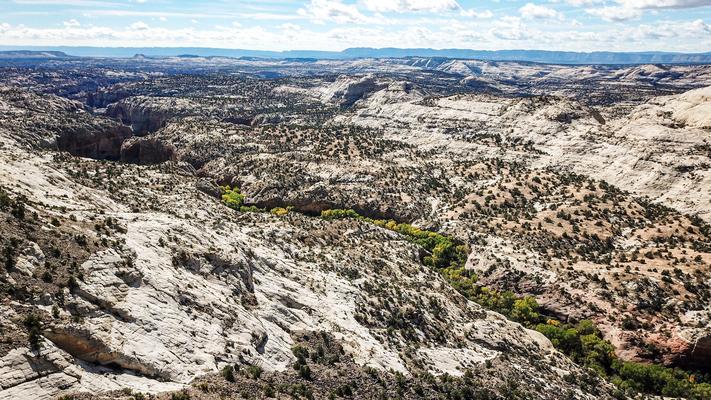 Escalante staircase Utah USA, irgendwo da unten liegt meine erste Drone!