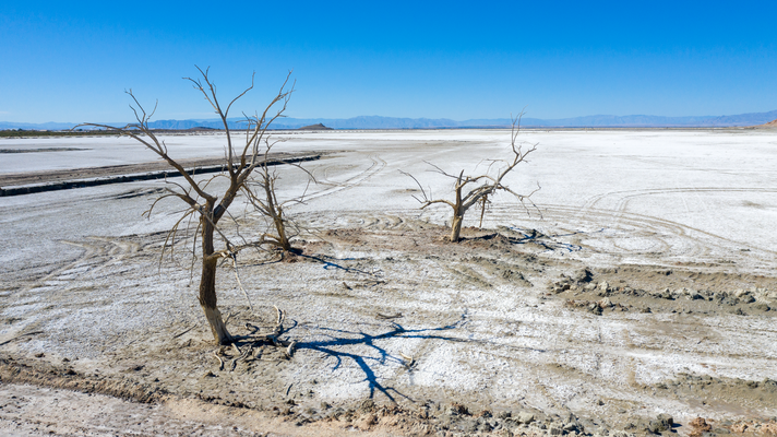 Salton Sea California USA