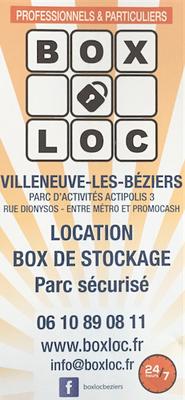 boxloc beziers