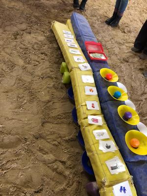 jährliche Reitpädagogen-Fortbildung TPC: Wir kriegen neue Spielideen!