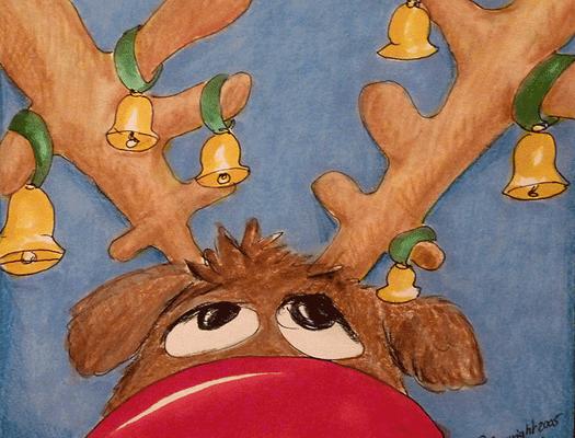 Weihnachtskarte_Elch