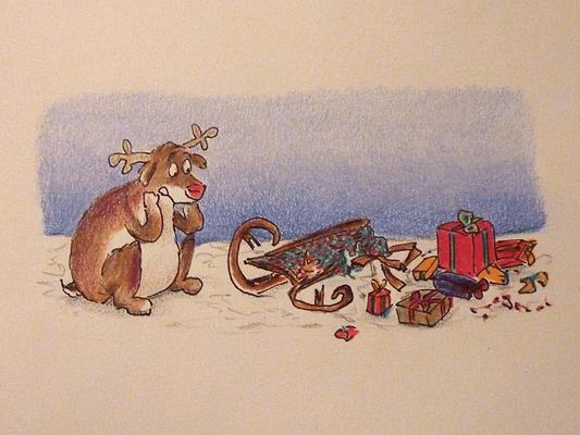Weihnachtskarte_Elch_9