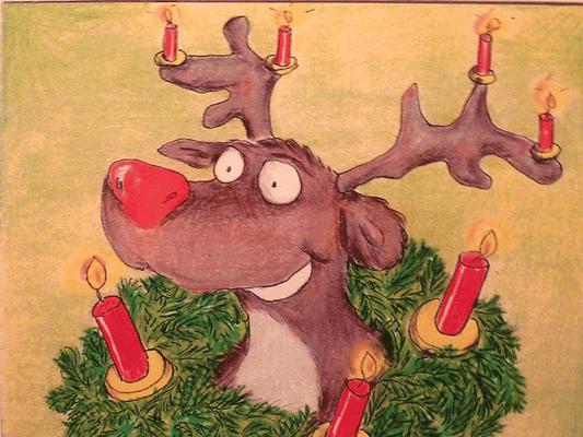 Weihnachtskarte_Elch_2