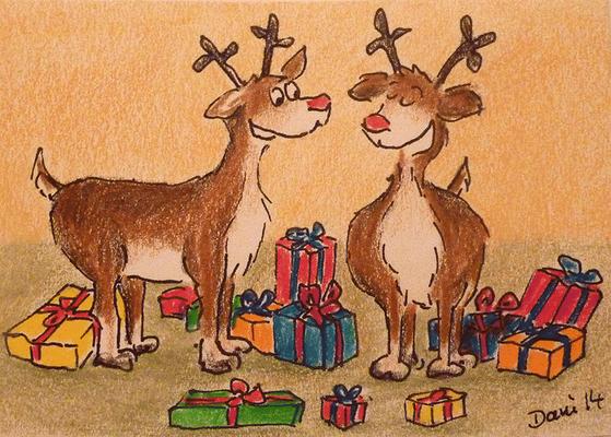 Weihnachtskarte_Elch_7