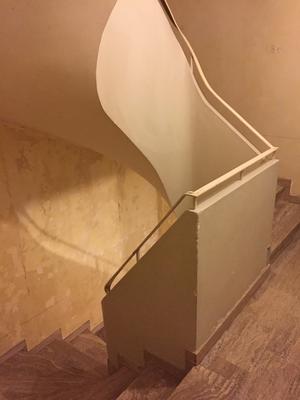 Cage d'escalier bâtiment A