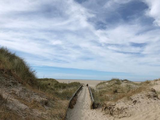 Dünenweg in St. Peter Ording Natur erleben, Entspannung erfahren auf einem Meditationsseminar mit Wege zum Sein
