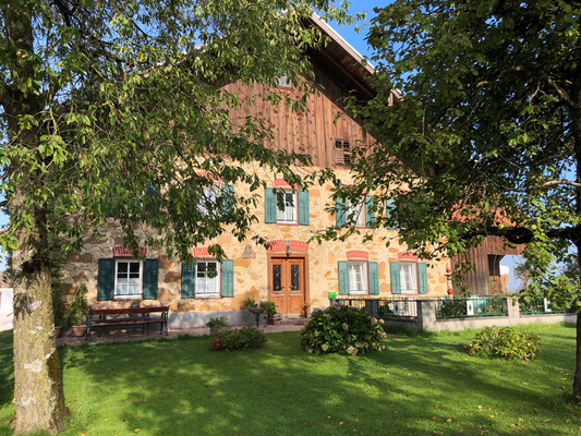 schöne Hausfassade in Obernberg