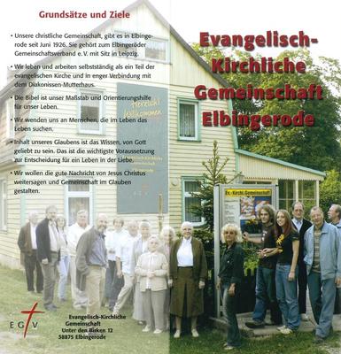 Ev. Kirchliche Gmeinschaft Elbingerode