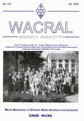 WACRAL - Titelbild
