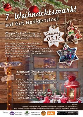 Weihnachtsmarkt Gut Heiligenstock